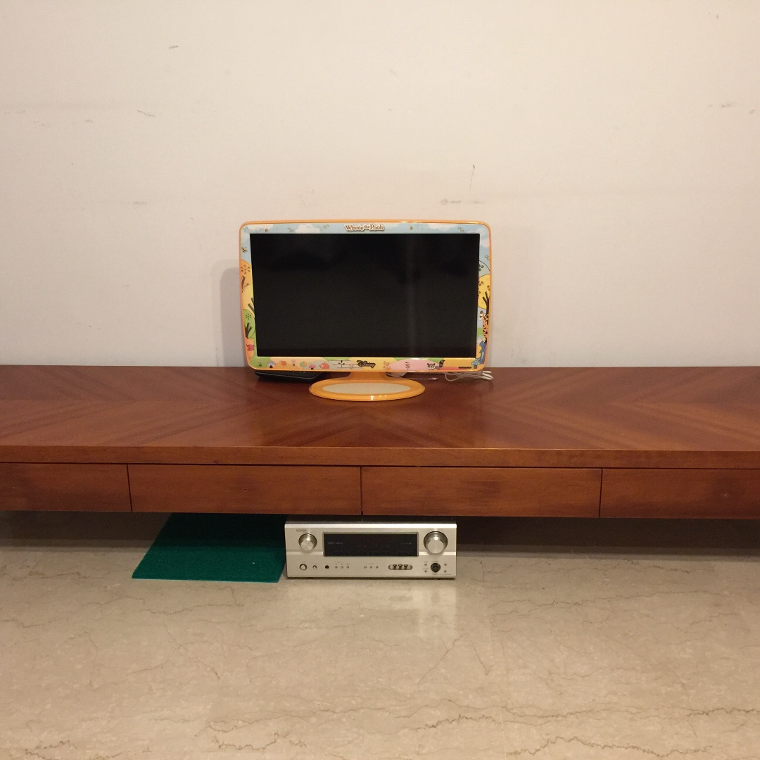 Low Tv Console Furniture Shelves Drawers On Carousell