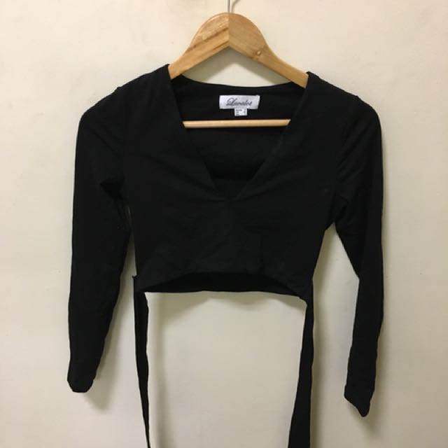 Luvalot Grace Long Sleeve Crop Top