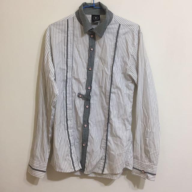 二手🌟條紋襯衫M