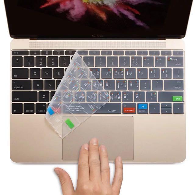 Macbook快捷功能鍵盤膜 鍵盤膜 筆電鍵盤膜
