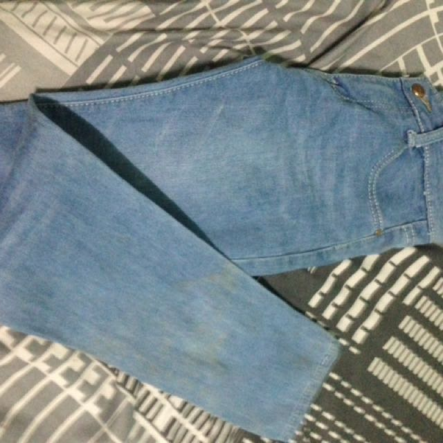 Maong skinny jeans