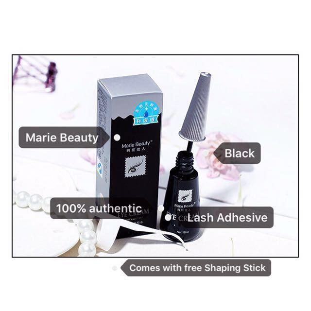 Marie Beauty Falsie/Double Eyelid Adhesive/Glue (Black)