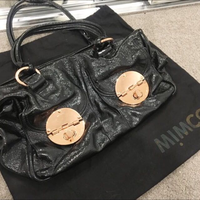 Mimco Turnlock Zip Bag - Large