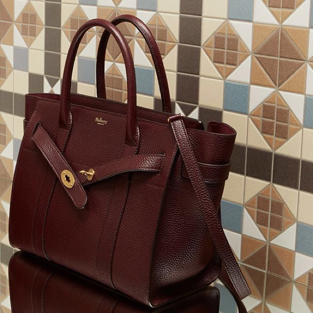 1247986f5dd5 Mulberry Small Zipped Bayswater Oxblood Brand New