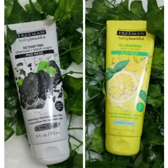 [NEW] FREEMAN MASK MINT LEMON CHARCOAL