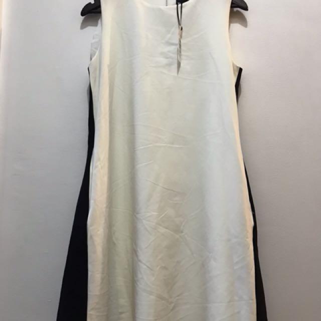 new with tag midi swing dress - fits  m to small L