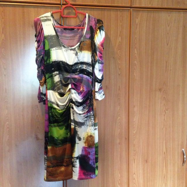 Nichii Printed Dress