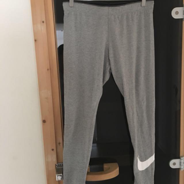 Nike grey sports tights