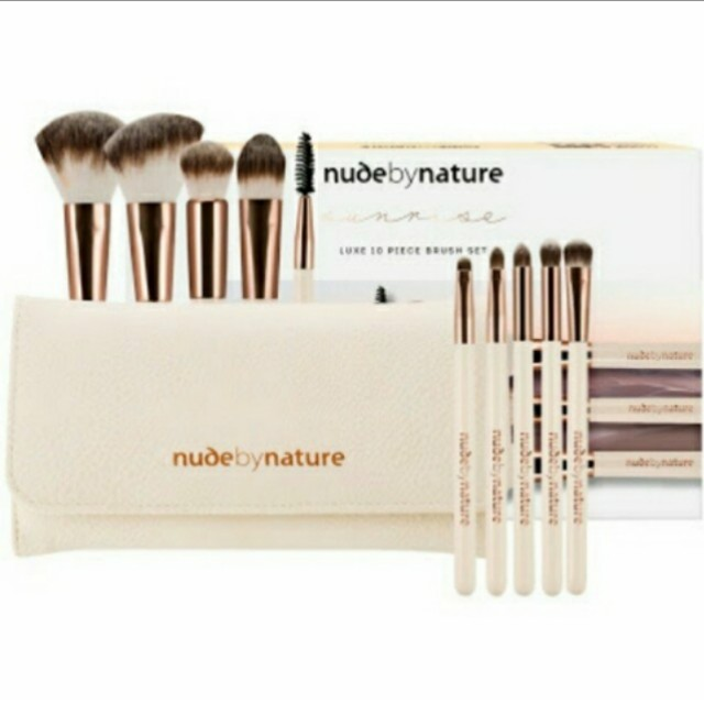 Nude by nature - Luxe 10 piece brush set