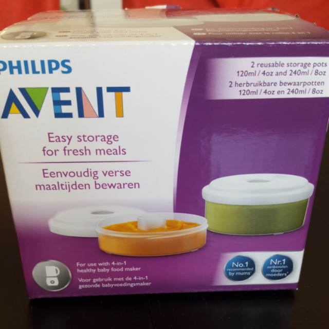photo photo photo photo & Philips Avent Food storage pots Babies u0026 Kids Nursing u0026 Feeding on ...