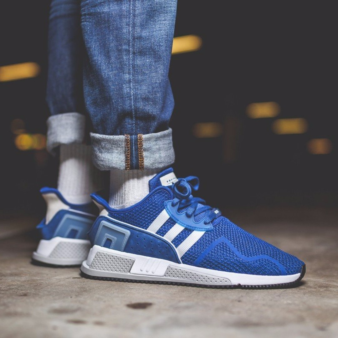 e8ea11492138 PO) Adidas Mens EQT Cushion Adv Collegiate Blue