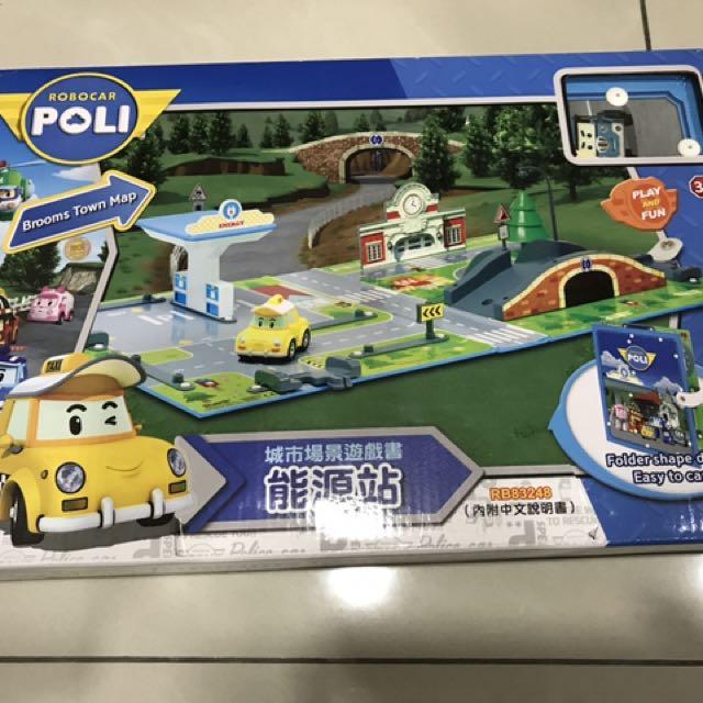 Poli城市場景遊戲書-能源站