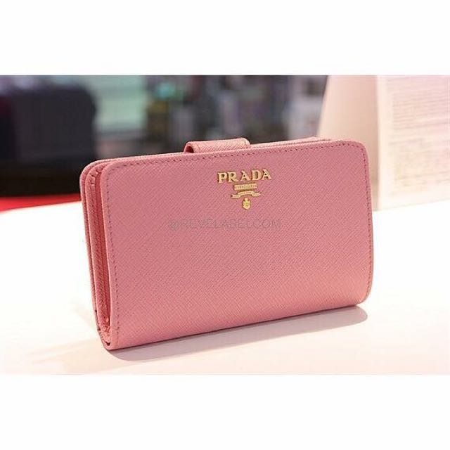 17c0e3b80290 ... low price prada saffiano french wallet petalo 1ml225 qwa f0442 luxury  bags wallets on carousell 448b0 ...
