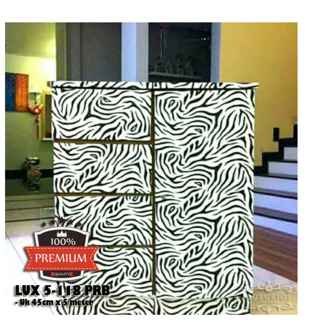 (PREMIUM QUALITY) Luxurious Wallpaper LUX 5-118 PRB - Zebra