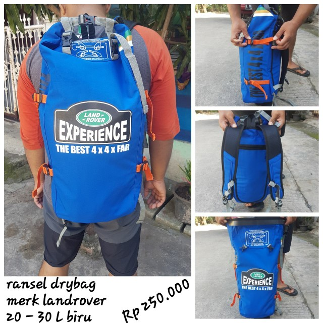 Ransel DRYBAG LANDROVER UP TO 25L