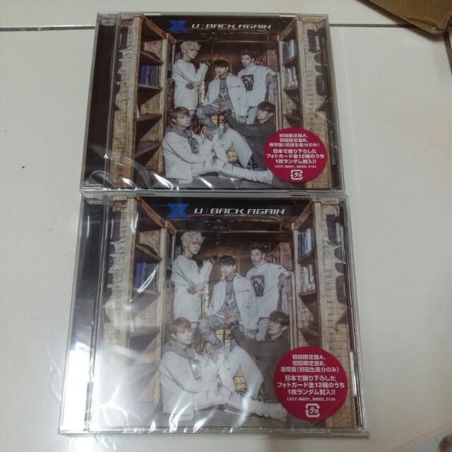 [READY STOCK] KNK U / BACK AGAIN Japanese Regular ver album