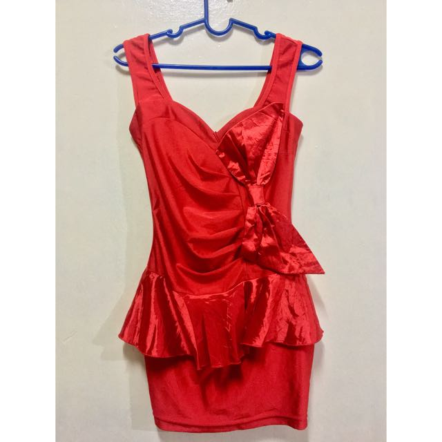 RED CHILLY DRESS