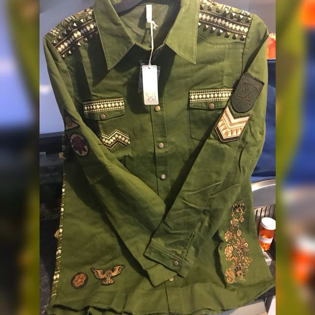 REPLICA PANTHER JACKET SPELL AND THE GYPSY FREE POSTAGE