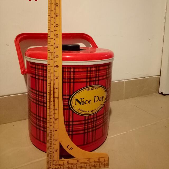 Rice/ice Bucket,  Tempat Penyimpanan,  Bisa Buat Panas Ataupun Dingin