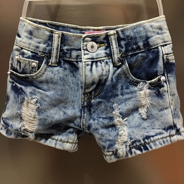 Ripped Kids Shorts