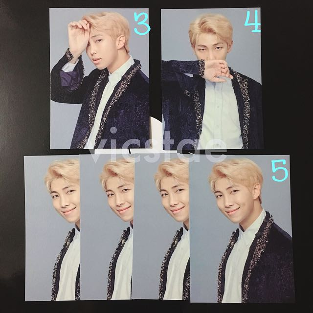RM / MINI PHOTOCARDS / BTS THE WINGS TOUR -THE FINAL- OFFICIAL MD