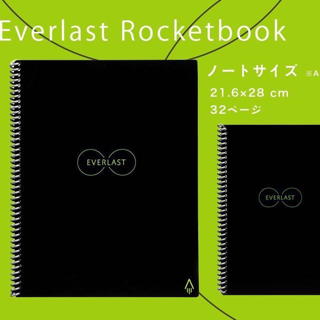 "Rocketbook Everlast Smart Notebook (8 5""x11""), Electronics"