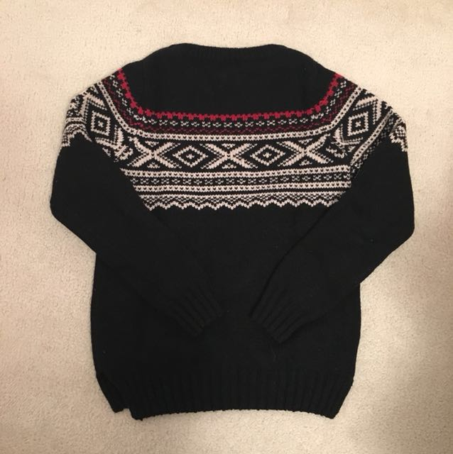 Roots Holiday Sweater