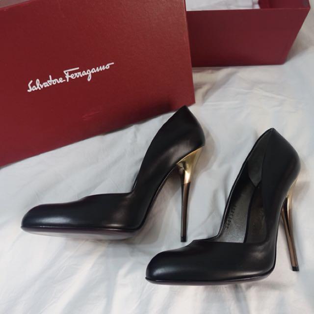 Salvatore Feragamo heels- authentic new!
