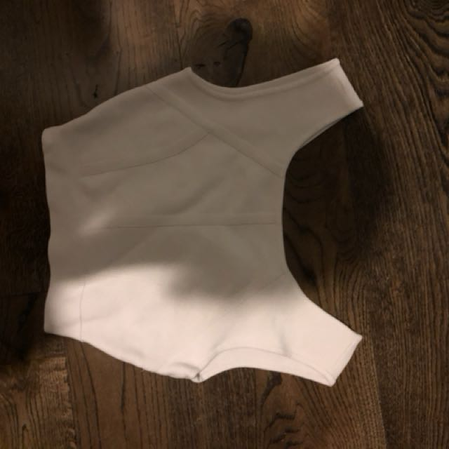 Seed crop top size 6