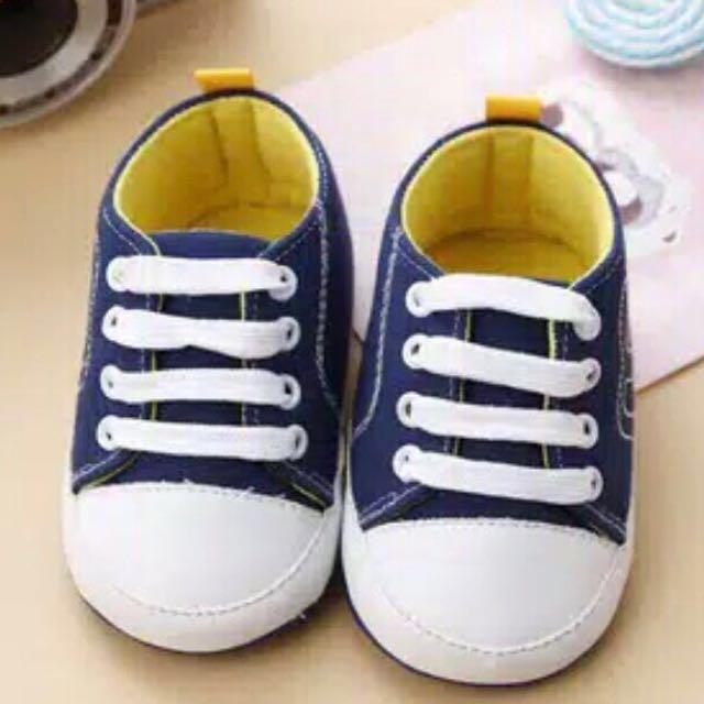sepatu anak bahan katun ukuran M