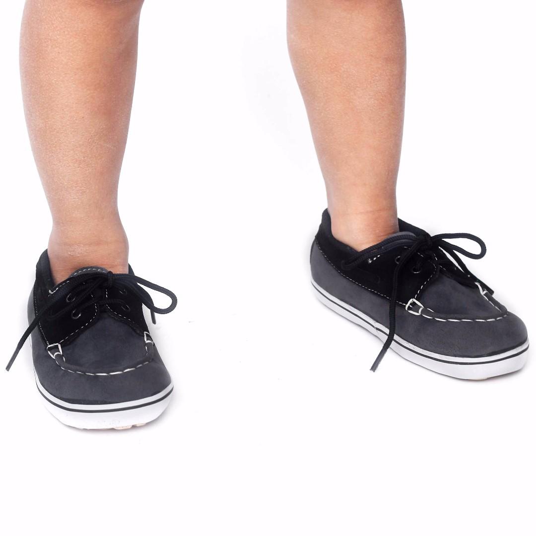 Sepatu Vans Anak Kasual Abu-abu