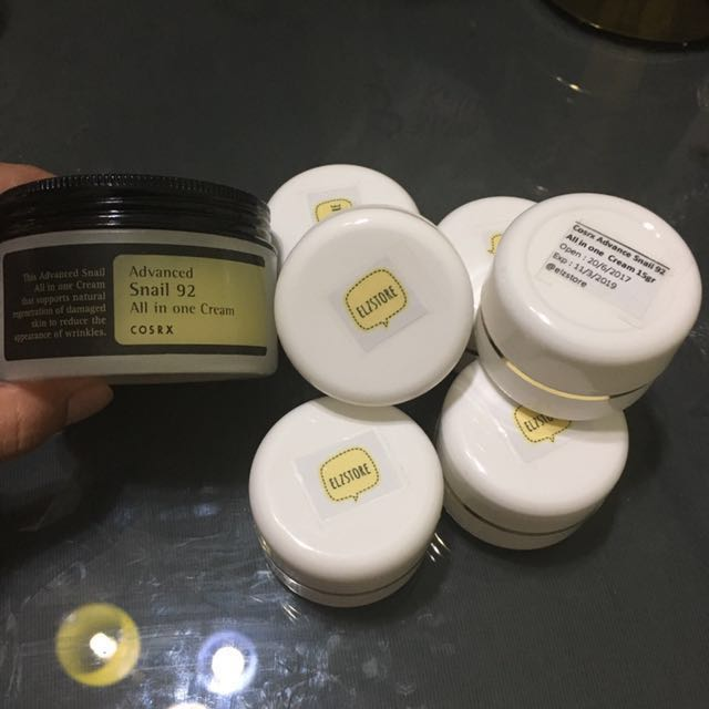 [SHARE] cosrx advanced snail 92 all in one cream 15gr