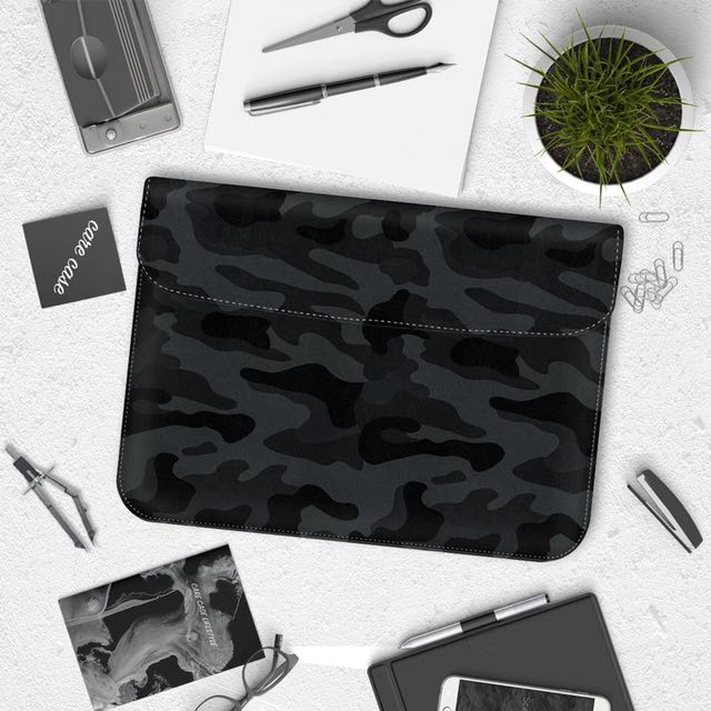#SL03 // camo macbook sleeves