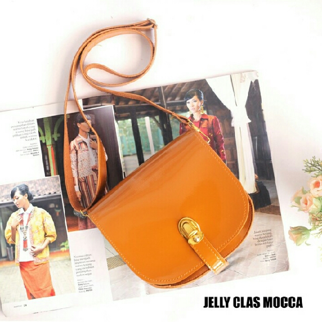 Sling Bag Jelly Class Mocca