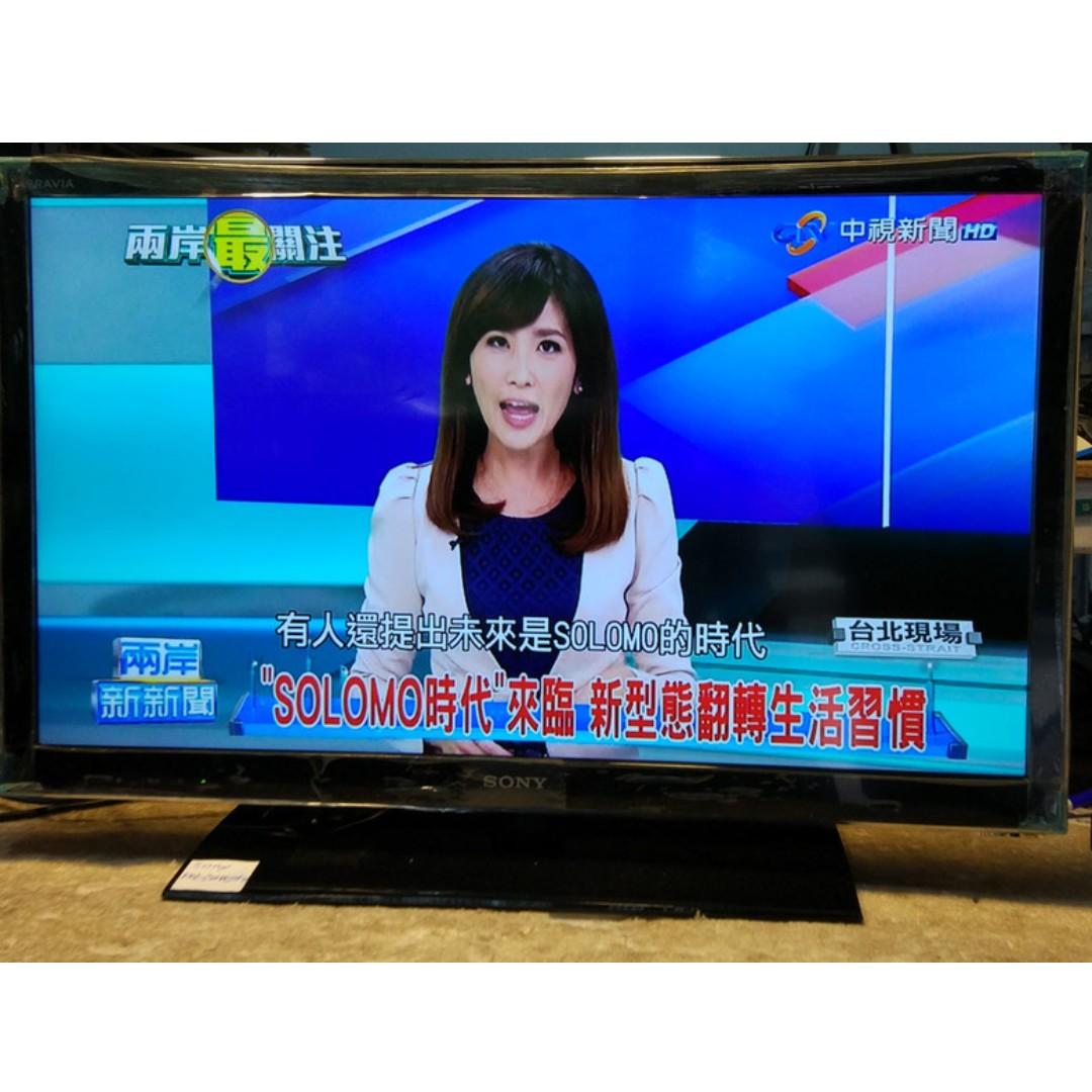 SONY 32吋 KDL-32HX750 3D 聯網(有線無線WIFI) LED 液晶電視 外觀很新 2012年製造