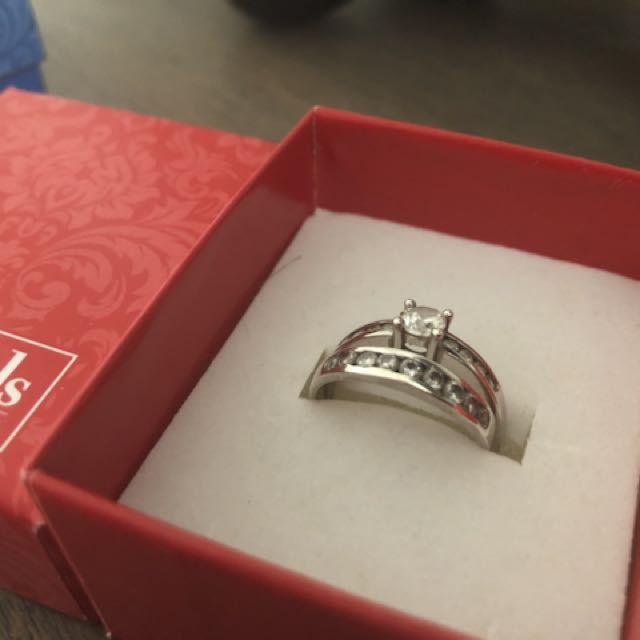 Sterling Silver Bridal Set