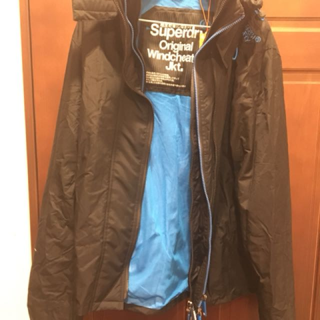 Superdry男生版外套XL