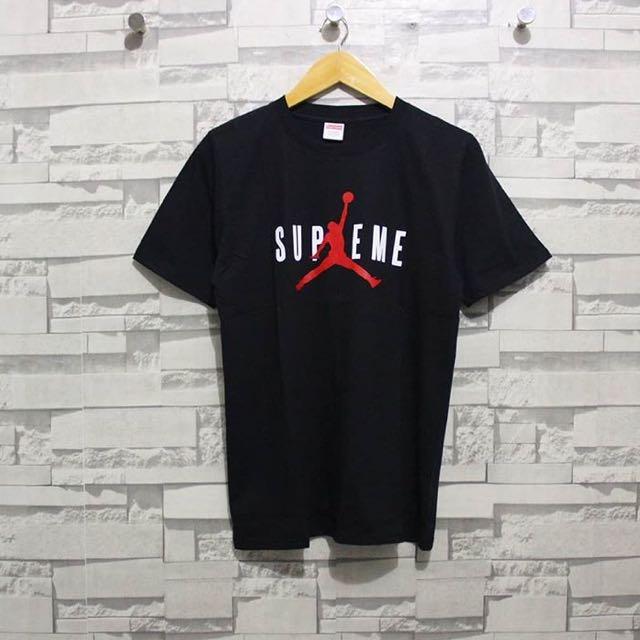 e5781d7e95a Supreme x Jordan Tee (Premium Quality), Men's Fashion, Men's Clothes ...