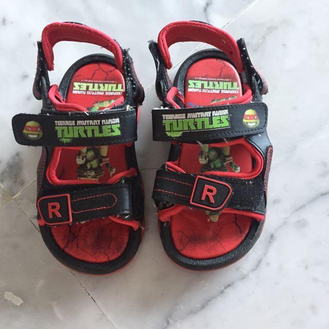 Teenage Mutant Ninja Turtle Sandal Shoes #blessing