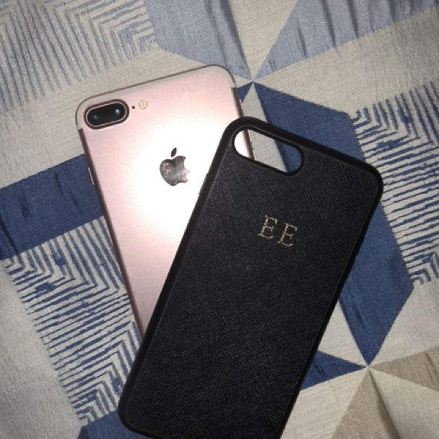 The Daily Edited Monogramed phone case