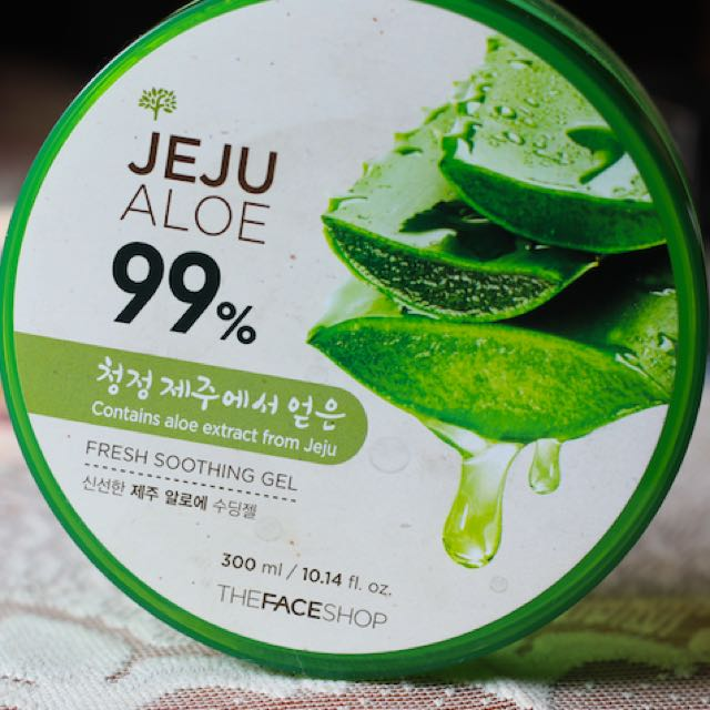 The Face Shop, Jeju Aloe 99% Fresh Soothing Gel