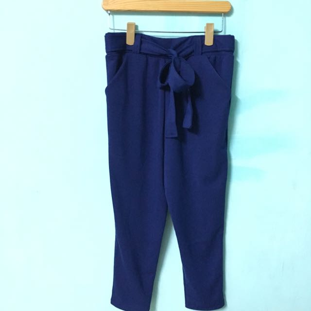 Tie Pants in Blue