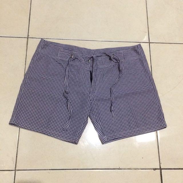 Tile short pants