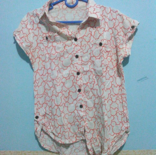[titip jual] Blouse mickey mouse