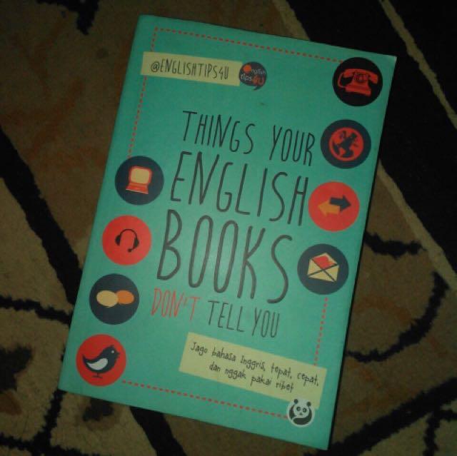 [titip jual] buku belajar bahasa inggris