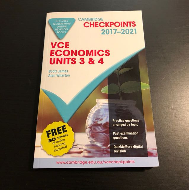 VCE Economics Cambridge Checkpoints