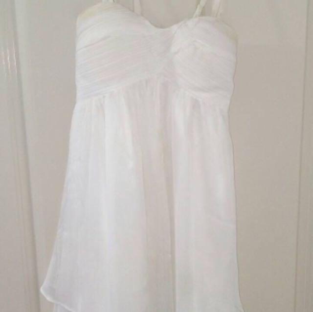 White 'Dotti' Dress