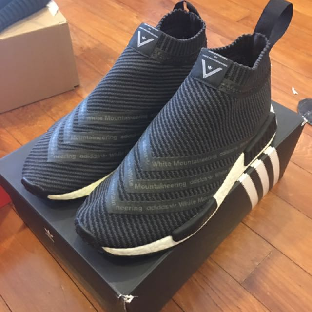 timeless design f3157 ece08 White Mountaineering NMD City Sock US8.5 UK8