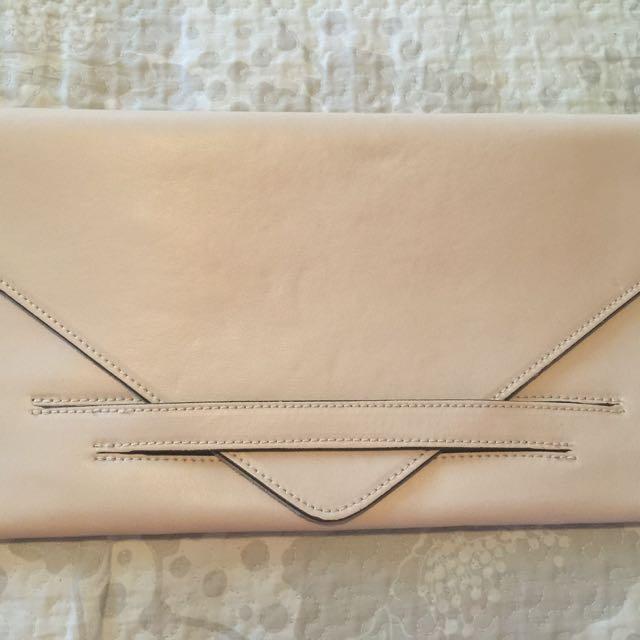 Women's Italian Leather Clutch Bag