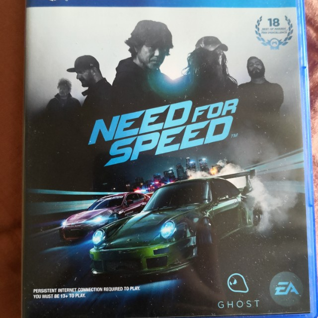 WTS PS4 Need for Speed 2015